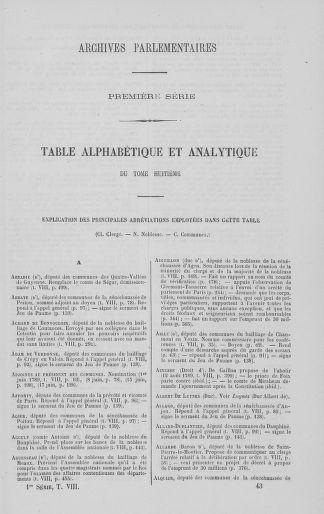 Tome 8 : Du 5 mai 1789 au 15 septembre 1789 - page 673
