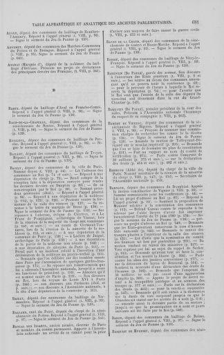 Tome 8 : Du 5 mai 1789 au 15 septembre 1789 - page 681