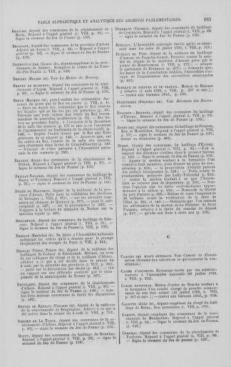 Tome 8 : Du 5 mai 1789 au 15 septembre 1789 - page 685