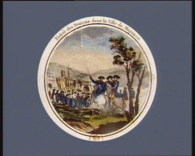 Entrée des Français dans la ville de Mayence [estampe]