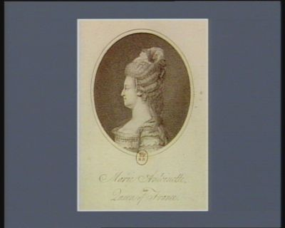 <em>Marie</em> <em>Antoinette</em> late Queen of France [estampe]