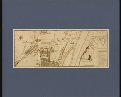 Plan géneral des terreins de la Bastille, Arsenal, Filles Ste Marie, Celestins, isle Louvier, et dependances appartenants au domaine national [estampe]