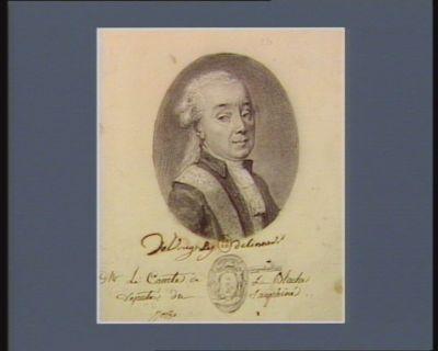 Mr le Comte de La Blache deputé du Dauphiné : [dessin]