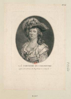 La  Comtesse de Cagliostro [estampe]