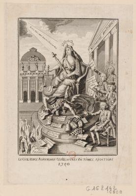 Le  Ciel venge aujourdhui ces illustres victimes 15 octobre 1790 [estampe]