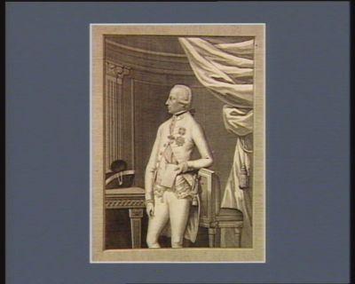 Francis. I König von Ungarn und Böhmen Herzog von Oestreich &<em>c</em> [estampe]