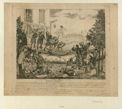 L' Auteur des meaux de la France au bord du Stix dédié <em>à</em> la noblesse il n'existe plus cet orateur seditieux... : [estampe]