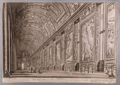 Palazzo Vaticano. Galleria delle Carte Geografiche