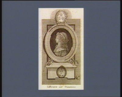 Liberavit me Dominus <em>é</em> manibus gallorum 19 Decebris 1795 : [estampe]