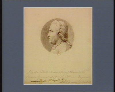L' Abbé Peretti della Rocca, chanoine, vicaire général et official d'Alesia député du clergé de Corse... : [dessin]
