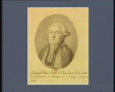 Ferdinand Denis Comte de Crécy député de la noblesse [de la] Sénéchaussée de Ponthieu né <em>à</em> Besançon le 6 juill. 1744 : [dessin]