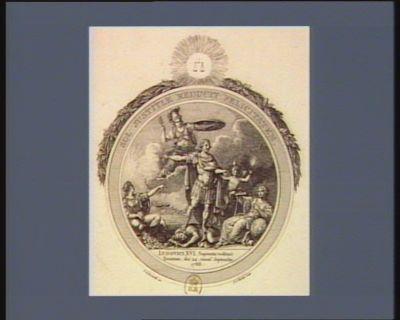 Sol justitiae reducit felicitatem Ludovici XVI sapientia restituit Senatum, dié 24. mens. septembr. 1788... : [estampe]