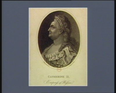 Catherine II empress of Russia : [estampe]