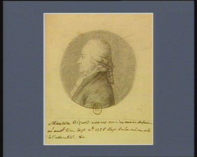 Maurice Bizard avocat ancien maire de Saumur né au d.t lieu le 1.er X.bre 1726, dép. de la même ville à l'Assemblée : [dessin]