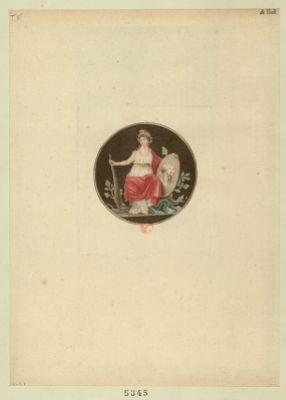 [La  Liberté tenant les <em>portraits</em> de Marat et Le Pelletier] [estampe]