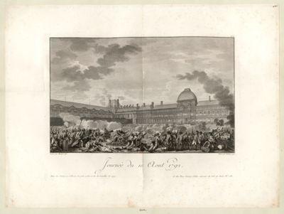 <em>Journée</em> du <em>10</em> aout <em>1792</em> [estampe]