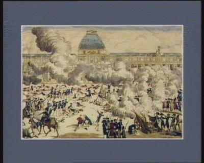La  France sauvée [estampe]