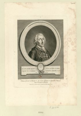 Ch. Vinc. Du-Plaquet prêtre de l'ordre de Malte député des communes du baill. de St-Quentin, en Picardie né en 1730 : [estampe]