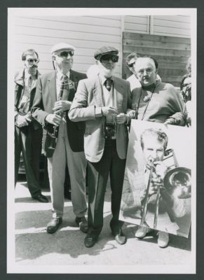 Bob Helm, Charles 'Duff' Campbell and Dottie Lawless