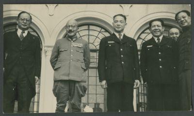 Hideki Tojo meets with Wang Jingwei's delegation