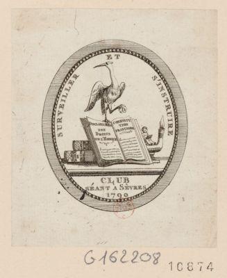 Surveiller et s'instruire club séant <em>à</em> Sèvres 1790 : [estampe]