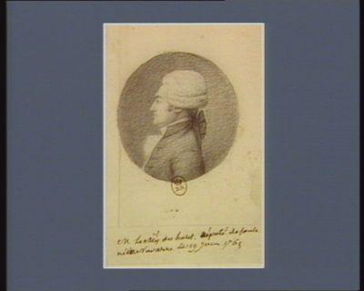 M. le m.is Du Hart député de Soule né en Navarre le 19 juin 1765 : [dessin]