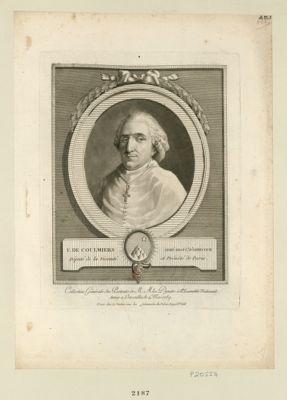 F. de Coulmiers, abbé régul.r d'Abbecour député de la vicomté et prévôté de Paris : [estampe]