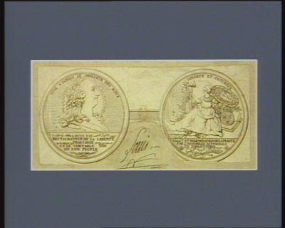 Louis XVI restaurateur de la liberte françoise et le veritable ami de son peuple Salut et regeneration de la France par l'Assemblée nationale en 1789 et 1790... : [estampe]