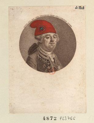 Louis XVI , Roi <em>des</em> Français père d'un peuple libre [estampe]