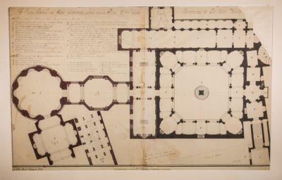 Museo Vaticano. Museo Pio Clementino, pianta