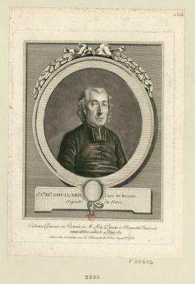 J.n C.de El.th Goullard, curé de Roanne député du Forez : [estampe]