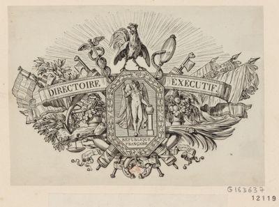 Directoire éxécutif République française : [estampe]