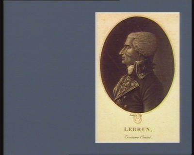 Lebrun troisieme consul : [estampe]