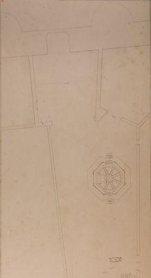 Porta Latina. S. Giovanni in Oleo, pianta