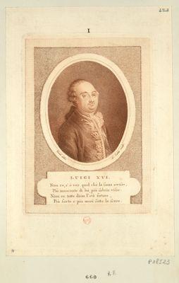 Luigi XVI niun re, <em>s'e</em> ver quel che la fama scrisse... : [estampe]