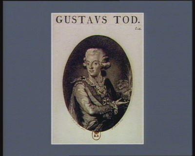 <em>Gustavs</em> Tod [estampe]