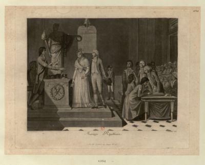 Mariage républicain [estampe]
