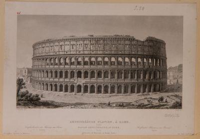 Colosseo visto da settentrione