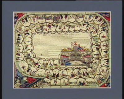 Jeu de la Revolution française regle que l'on doit observer dance jeu : [estampe]