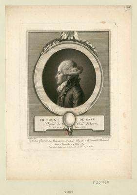 Fr. Roux de Raze député du bail.ge d'Amon, né le 20 juin 1758 : [estampe]