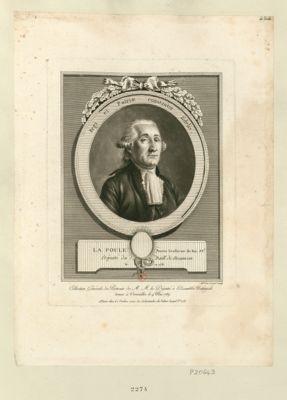 La  Poule, ancien gendarme du roi, av.t deputé du baill. de Besancon, né en 1738 : [estampe]
