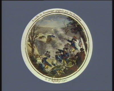 Bataille de Gemmappe gagnée par les Français le 6 novembre <em>1792</em> : [estampe]