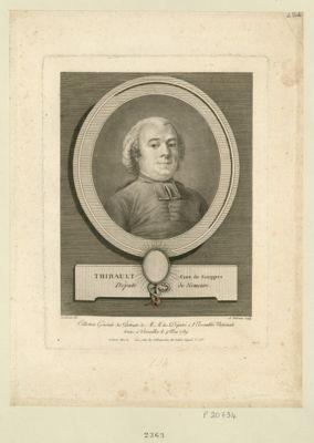 Thibault, cure de Souppes député de Nemours : [estampe]