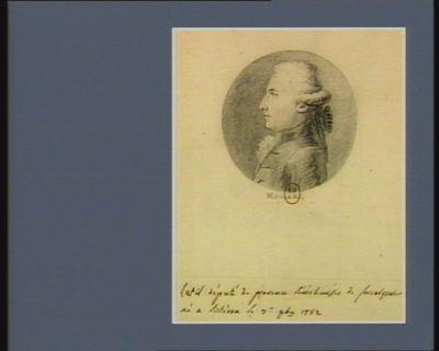 Latil député de Provence sénéchaussée de Forcalquier... : [dessin]