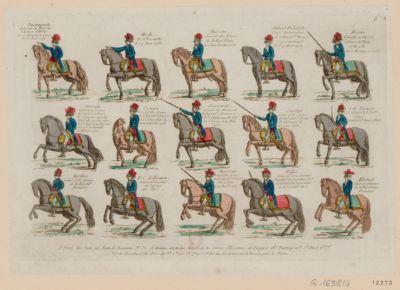 Buonaparte general en chef de l'armée d'Italie né à Ajaccio en Corse le 15 août 1769 Hoche né à Versailles le 24 juin 1768 ; Massena général des armées de la République né à Nice le 6 mai 1756... : [estampe]
