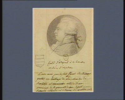 Pierre Marie Jean Baptiste Flaust lieutenant général au bailliage de Vire, membre de l'Assemblée et commission intermédiaire provinciale de la généralité de Caen, député à l'Assemblée nationale, né à Rouen le 17 octobre 1762 : [dessin]