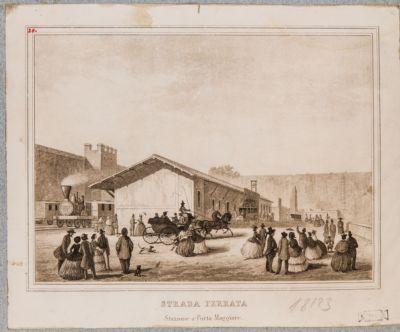 Porta Maggiore, stazione ferroviaria