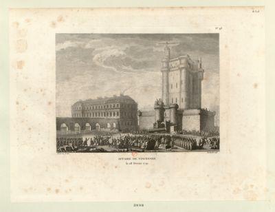 Affaire de Vincennes le 28 février 1791. : [estampe]