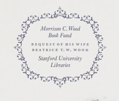 Morrison C. Wood Book Fund