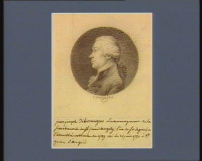 Jean. Joseph de Bonnegens lieutenant-général de la sénéchaussée de Saint-Jean-d'Angély... : [dessin]
